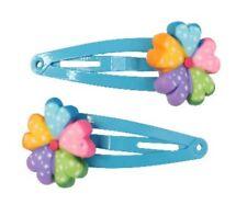 Great Pretenders Niños Pinzas para el cabello colorido flores juego de 2 niñas