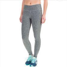 NWT Women's New Balance Athletic Yoga Space Dye Leggings Black Gray XS S M L XL