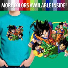 Anime Gohan Goku Shenlong Vegeta Buu Gift Shirt Boy Kids Teen Tee Youth T-Shirt