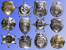 Sheriff Stern, Polizei Feuerwehr Kapitän, Kostüm Plakette Marke Abzeichen
