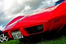 Chevrolet Corvette Stingray classic sports car photograph picture poster print
