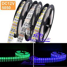 5M 600 leds 5050 Double Row RGB white warm white LED strip Light  DC12V new