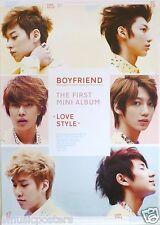 "BOYFRIEND ""LOVE STYLE"" MALAYSIAN PROMO POSTER - Korean Boy Band, K-Pop Music"