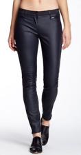 3x1 NYC Coated Denim Straight Leg Pant Lagoon NWT $264