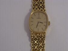 18ct Gold Omega De Ville Ladies Watch      1973    Second Hand