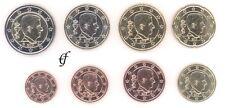 Belgien alle 8 Münzen 1 Cent - 2 Euro Kursmünzenset KMS alle Jahre wählen