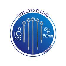 New  Eyepin  - Silver Plated - DIY Jewellery