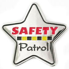 PinMart's Safety Patrol Star Award Enamel Lapel Pin