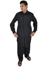 SFBD Salwar Kameez - - SET Pantaloni Tunica In Pakistani Stile-NERO-kam00663