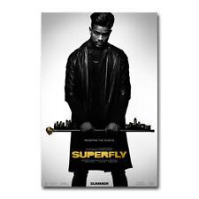 R158 SUPERFLY Movie SuperFly Blaxploitation Shaft-Print Art Silk Poster
