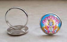 925 Sterling Silver Ring Choose Hindu Deity Hinduism God Goddess