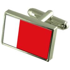 Dubai Bandiera Gemelli Fermacravatta Bavero Distintivo incisa Gift Set Eau CITY wfc120