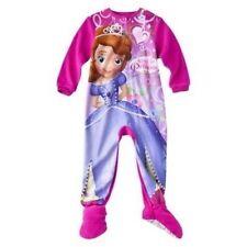 Disney Princess Sofia Footed Sleeper Pajama Girl Size 4T