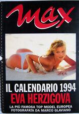 Calendar sexy-EVA HERZIGOVA nude-Calendario MAX 1994