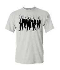 Reservoir Dogs T-Shirt Agent Smith Matrix Crossover Vintage Tarantino Classic