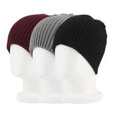 Hot Men Women Warm Oversize Beanie Skull Baggy Cap Winter Slouchy Knit Hat THX01