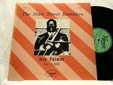 ROY PALMER State Street Ramblers 1931 Vol 2 Darnell Howard Jimmy Blythe LP