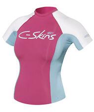C-Skins Ladies Rash Vest. Pink