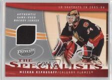 2006 Upper Deck Power Play The Specialists #S-MK Miikka Kiprusoff Calgary Flames