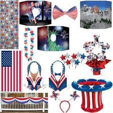 Amerikanische Dekoration USA Motto Party Deko New York rot blau weiss Amerika