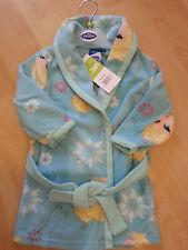 New girls licensed Disney Frozen bathrobe nightgown blue robe 2-8 years bnwt