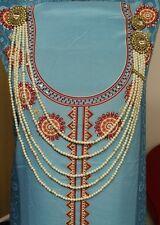 New Belly Dancing Diamante Pearls Abaya Saree Waist Belt Bridal CostumeJewellery