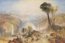 "J.M.W. Turner : ""Oberwesel"" (1840) — Giclee Fine Art Print"
