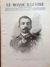 LE MONDE ILLUSTRE 1892 N 1828 LOUIS MARIE JULIEN VIAUD dit PIERRE LOTI .