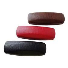 Black / Brown / Red Hard Case Small Sunglasses / Eyeglasses Case ~ Gift Idea