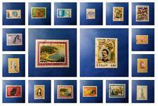 annata completa 1974 lotto 43 francobolli annullati timbrati usati 74 repubblica