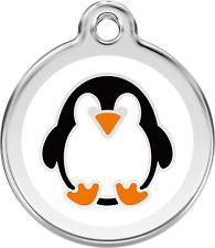 médaille acier inoxydable gravée chien ou chat red dingo pingouin 3 tailles