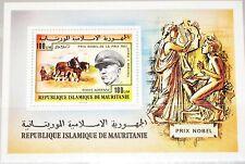 Mauritania Mauritania 1977 blocco 17 premio Nobel vincitore NOBEL PRICE Marshal MNH