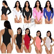 Sexy Sissy Women Lingerie Wetlook Sheer Thong Swimwear High Cut Leotard Bodysuit
