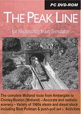 The Peak Line for Microsoft Train Simulator **NEW LOW PRICE**