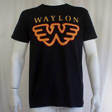 Authentic WAYLON JENNINGS Wings W Logo Slim-Fit T-Shirt S-3XL NEW