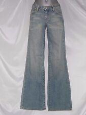 StreetsAhead Jeans Sz.24(4) 25(5) 26(6) 27(7) BootCut Acid Wash 33in.Inseam New