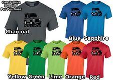 Land Rover Defender Para hombres Camiseta