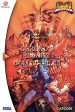 RGC Huge Poster - Project Justice Rival Schools 2 Sega DreamCast BOX ART- SDC074