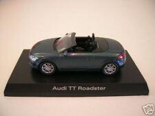 Kyosho Audi TT Roadster petrol blau / blue Cabrio, 1:64