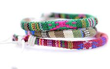 Chanvre tricotée bracelet bande bras bracelet, multiple choix