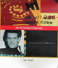 DAVID SANBORN POSTER, HEARSAY  (S7)