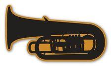 Tuba Car Vinyl Sticker - SELECT SIZE