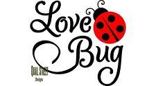 Love Bug  - Vinyl Decal Free Ship 405