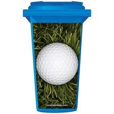PALLA da golf in erba lunga Wheelie Bin Adesivo pannello