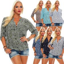 Feine Viskosebluse Hemdbluse Langarm-Fischerhemd Regular Fit Sommerblue Tunika