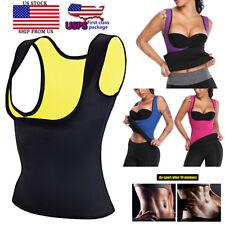 Women Neoprene Hot Vest Shapers Gym Sauna Sweat Thermal Belt Girdle Tops Trimmer