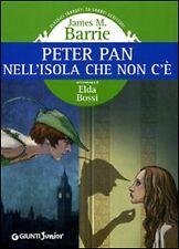 Peter Pan nell'isola che non c'è - Barrie James M. - Giunti junior, 2004 - L