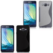 Lot 2 Funda Carcasa TPU silicona Gel Samsung Galaxy A7/ A7 Duos SM-A700F
