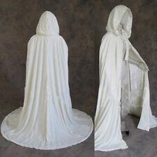 Velvet Hooded Cloak Hooded Wicca Robe Renaissance Medieval Witchcraft Larp Cape