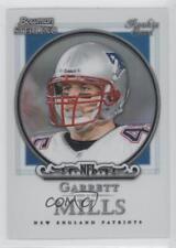 2006 Bowman Sterling Refractor #5 Garrett Mills New England Patriots Rookie Card